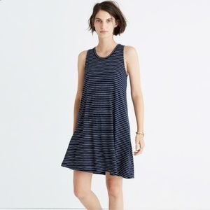 ⭐3/$15⭐Madewell High Point Dress in Chevron SzS